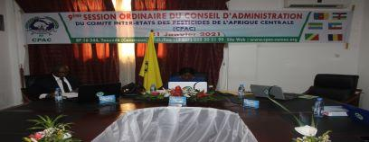 9eme Session ordinaire du conseil d'administration